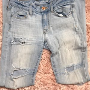American Eagle Outfitters Light Blue Jeans